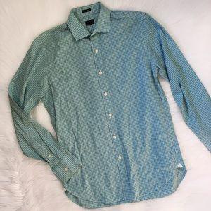 J. Crew Men's Button Up Ludlow Checkered Shirt